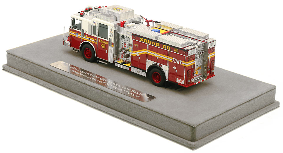 Order your FDNY Squad 41 scale model today!