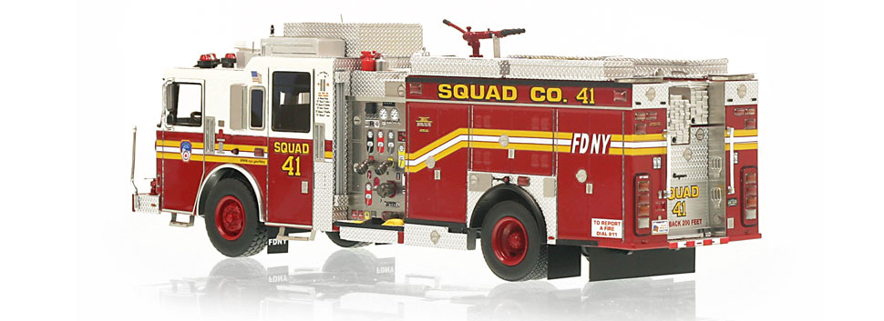 FDNY Squad 41 is limited to 300 units.