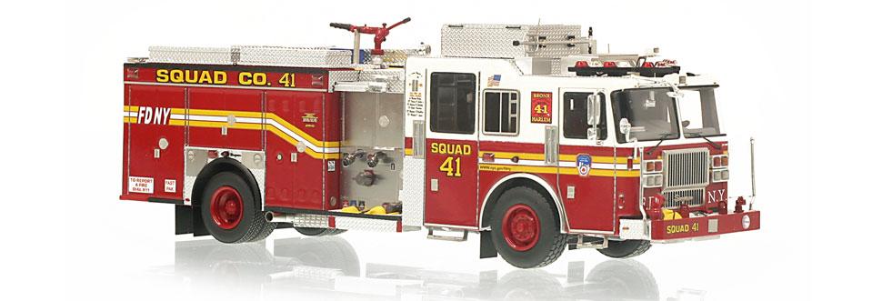 FDNY Squad 41 replica features razor sharp accuracy