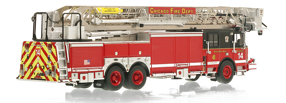 CFD Tower Ladder 14 features a 0.6mm stainless steel ladder.