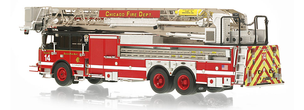 CFD Tower Ladder 14 is limited to 100 units.