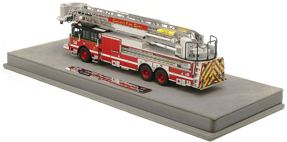 Order your Chicago Tower Ladder 14 today!