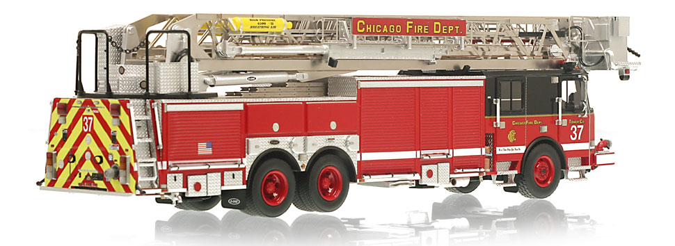 CFD Tower Ladder 37 features a 0.6mm stainless steel ladder.