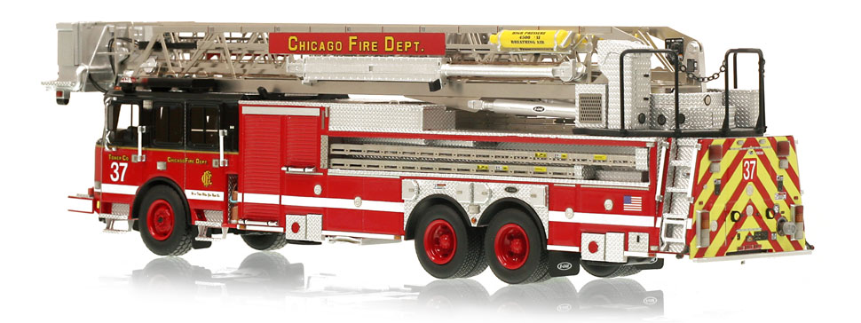 CFD Tower Ladder 37 is limited to 100 units.