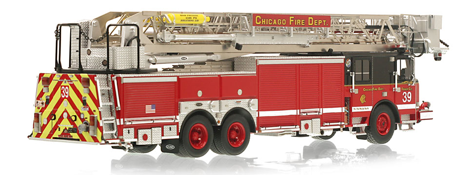 CFD Tower Ladder 39 features a 0.6mm stainless steel ladder.