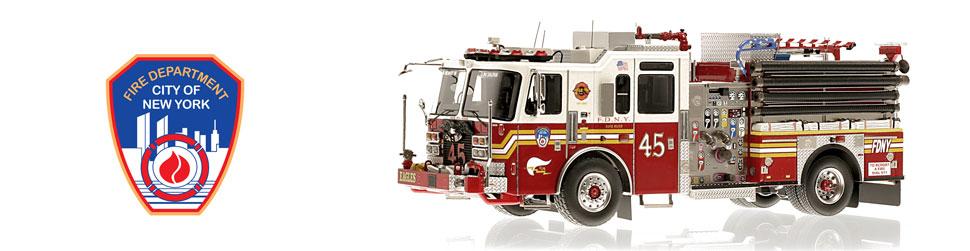 FDNY KME Engine 45 is a museum grade replica.