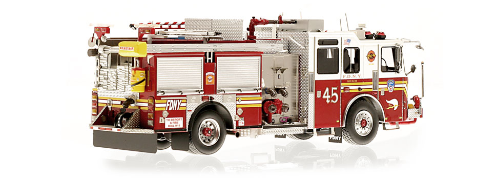 Production of FDNY KME Engine 45 is limited to 220 units.