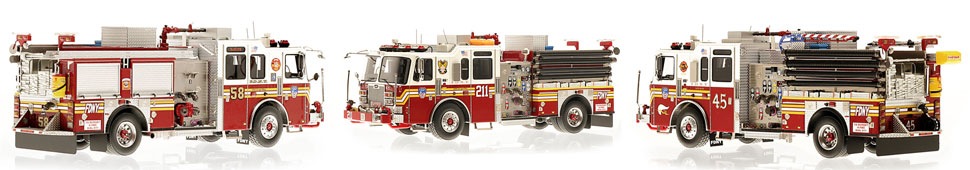 Order your FDNY Engine 3-Piece set today!