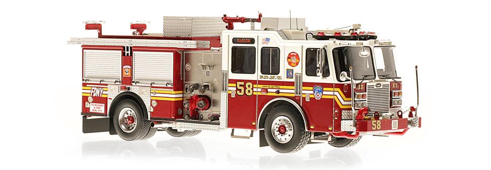FDNY Engine 58 replica features razor sharp accuracy