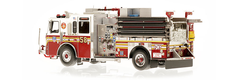 Production of FDNY KME Engine 58 is limited to 140 units.