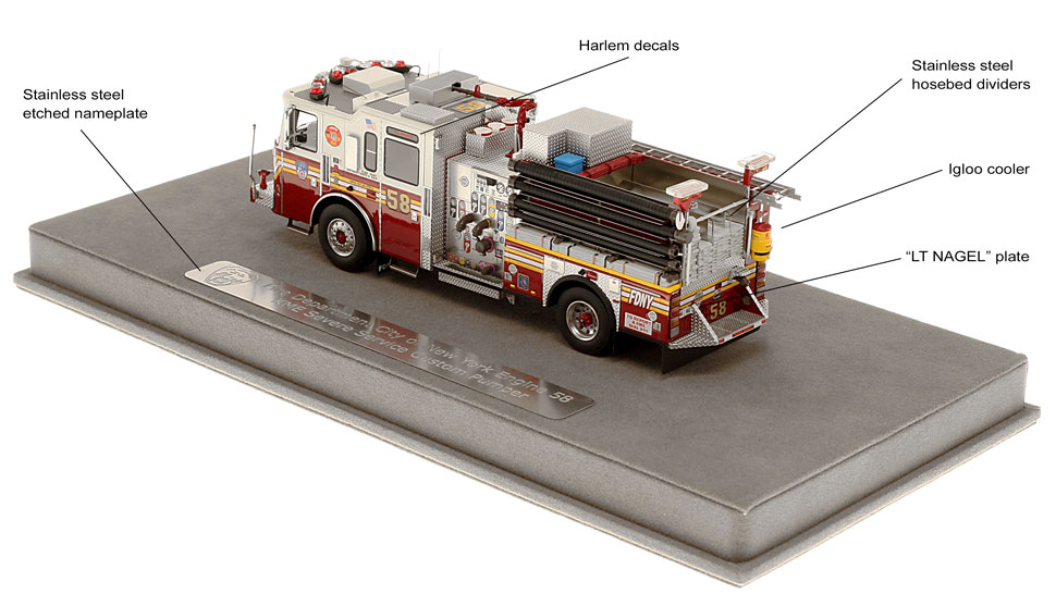 Authentic to Harlem's Fire Factory Engine 58