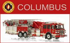Shop Columbus scale model fire trucks
