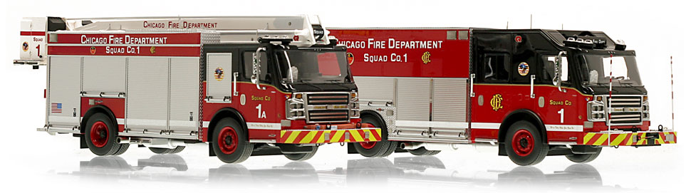 Chicago Rosenbauer Squads available to order now!