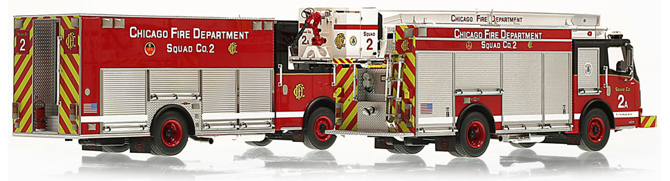 Each CFD Squad 2 is hand-crafted using over 400 parts