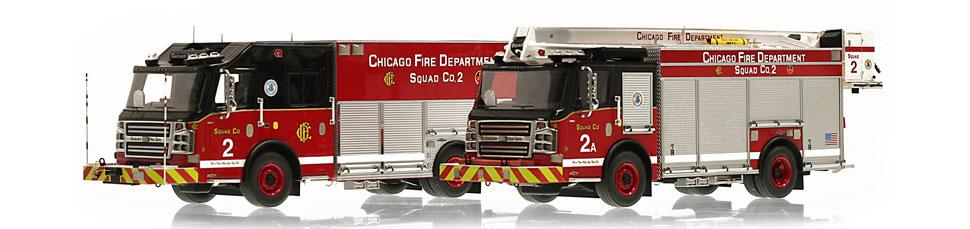 Chicago Rosenbauer Squad 2