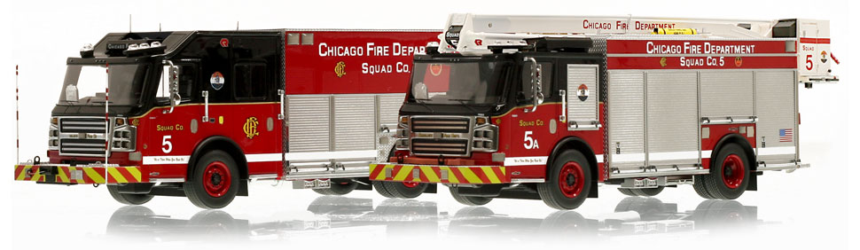 Each CFD Squad 5 set is limited to 100 units.