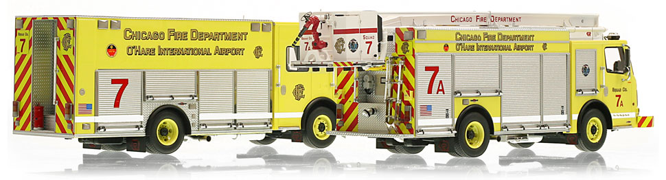 Each CFD Squad 7 is hand-crafted using over 400 parts