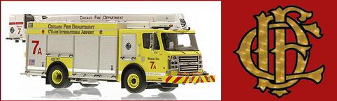 Shop Chicago Fire Department scale model fire trucks!