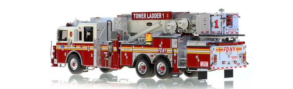 Production of FDNY Tower Ladder 1 is limited to 125 units.