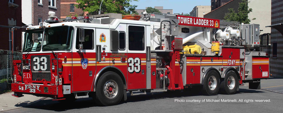 FDNY Tower Ladder 33