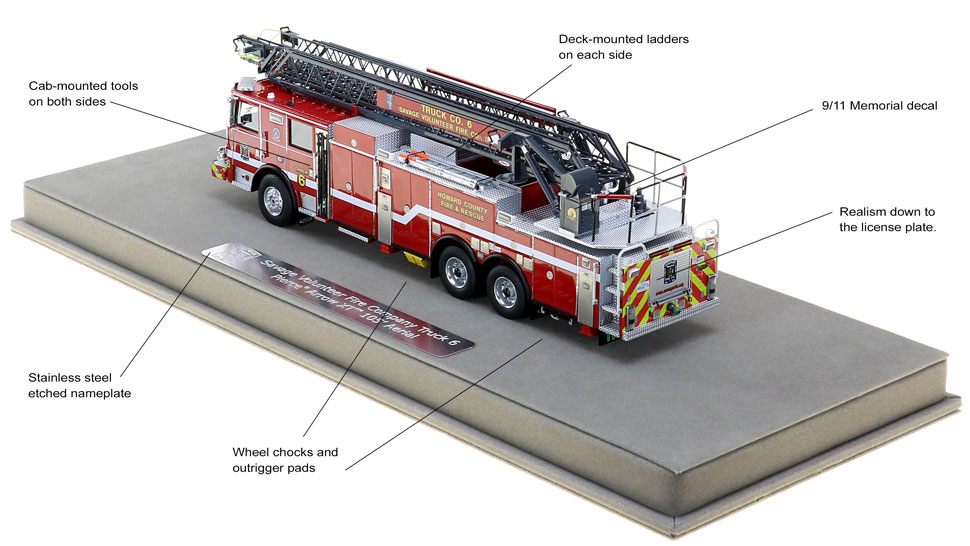 Truck 6 is full of custom features
