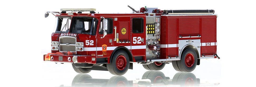 Boston Engine 52 is hand-crafted using over 400 parts.