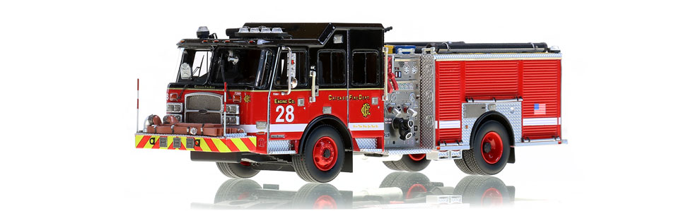 Chicago Engine 28 features museum grade accuracy.