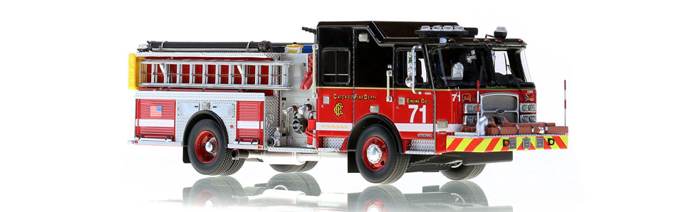 CFD Engine 71 is a hand-crafted scale model