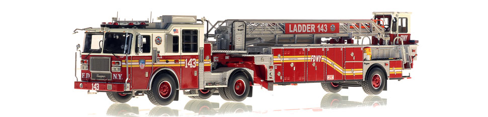 Learn more about FDNY Ladder 143 scale model