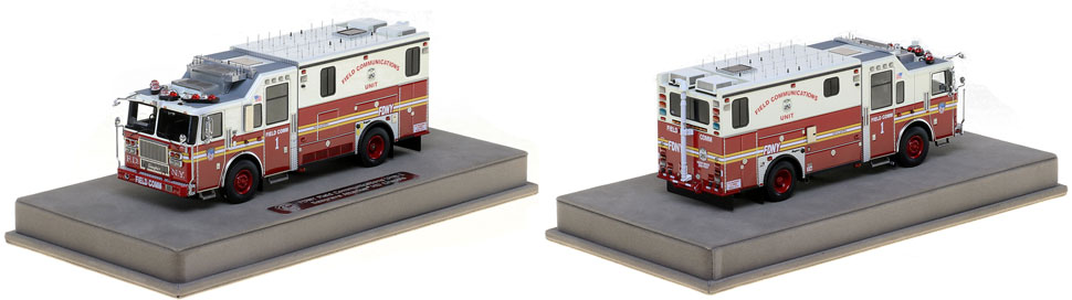 See the FDNY Field Comm 1 scale model!
