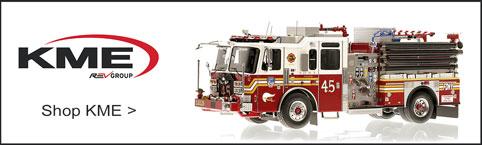 Shop KME scale model fire trucks