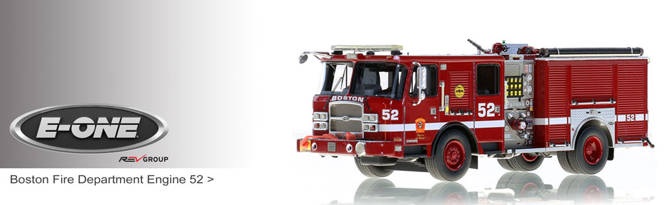 Shop our full line of E-One museum grade scale models