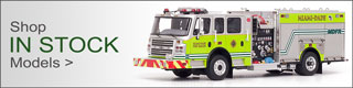 Shop all Fire Replicas in stock scale model fire trucks.