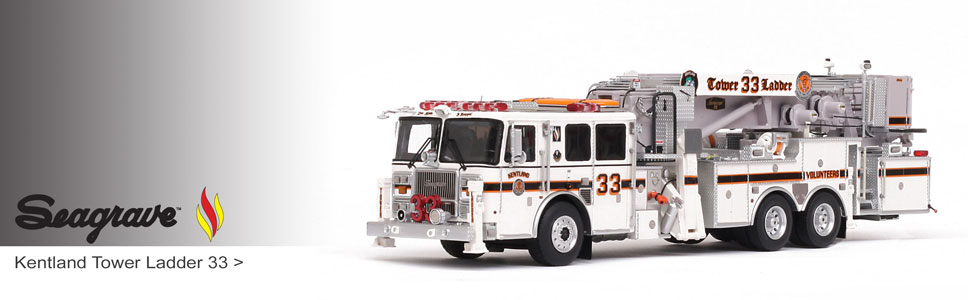 Shop museum grade Seagrave scale models including Kentland Tower 33!