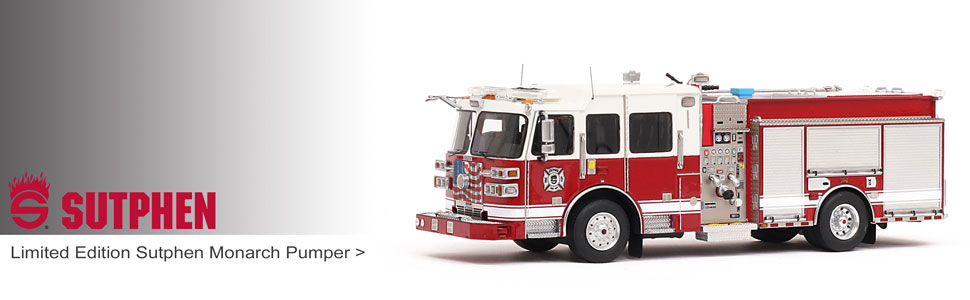 Shop museum grade Sutphen scale models including Sutphen Monarch engines!