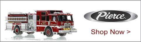 Shop Pierce scale model fire trucks