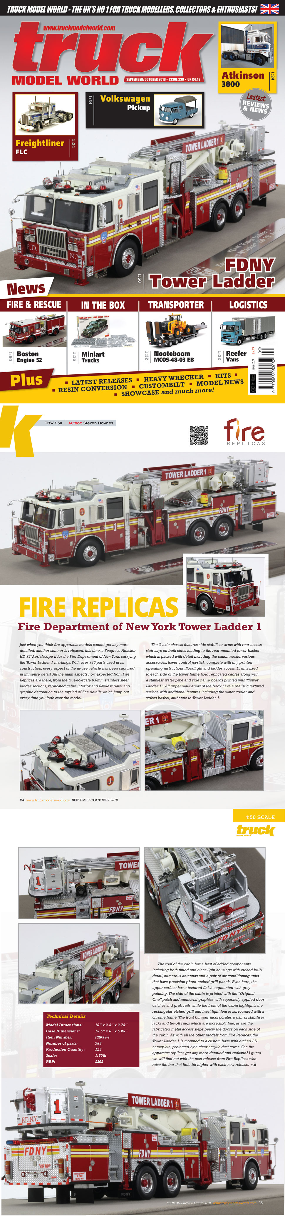 Learn more about FDNY Tower Ladder 1